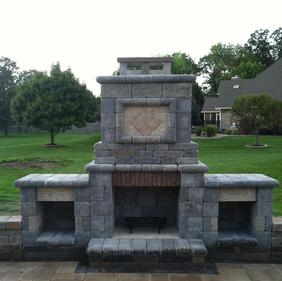 outdoor fireplace indianaapolis mooresville martinsville monrovia plainfiled