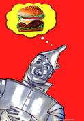 Tin Man Satire. Jack Haley in THE WIZARD OF OZ