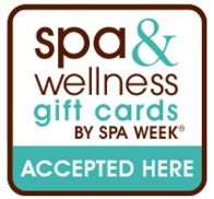 Spa Week gift cards accepted here