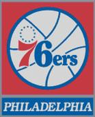 Philadelphia 76ers Cross Stitch Chart Pattern
