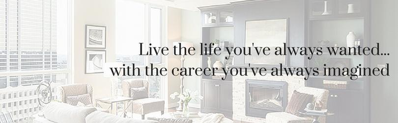 To be a home stager facebook group banner image