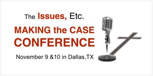 "2018 Fall Issues, Etc., ""Making the Case"" Conference, Dallas, Texas"