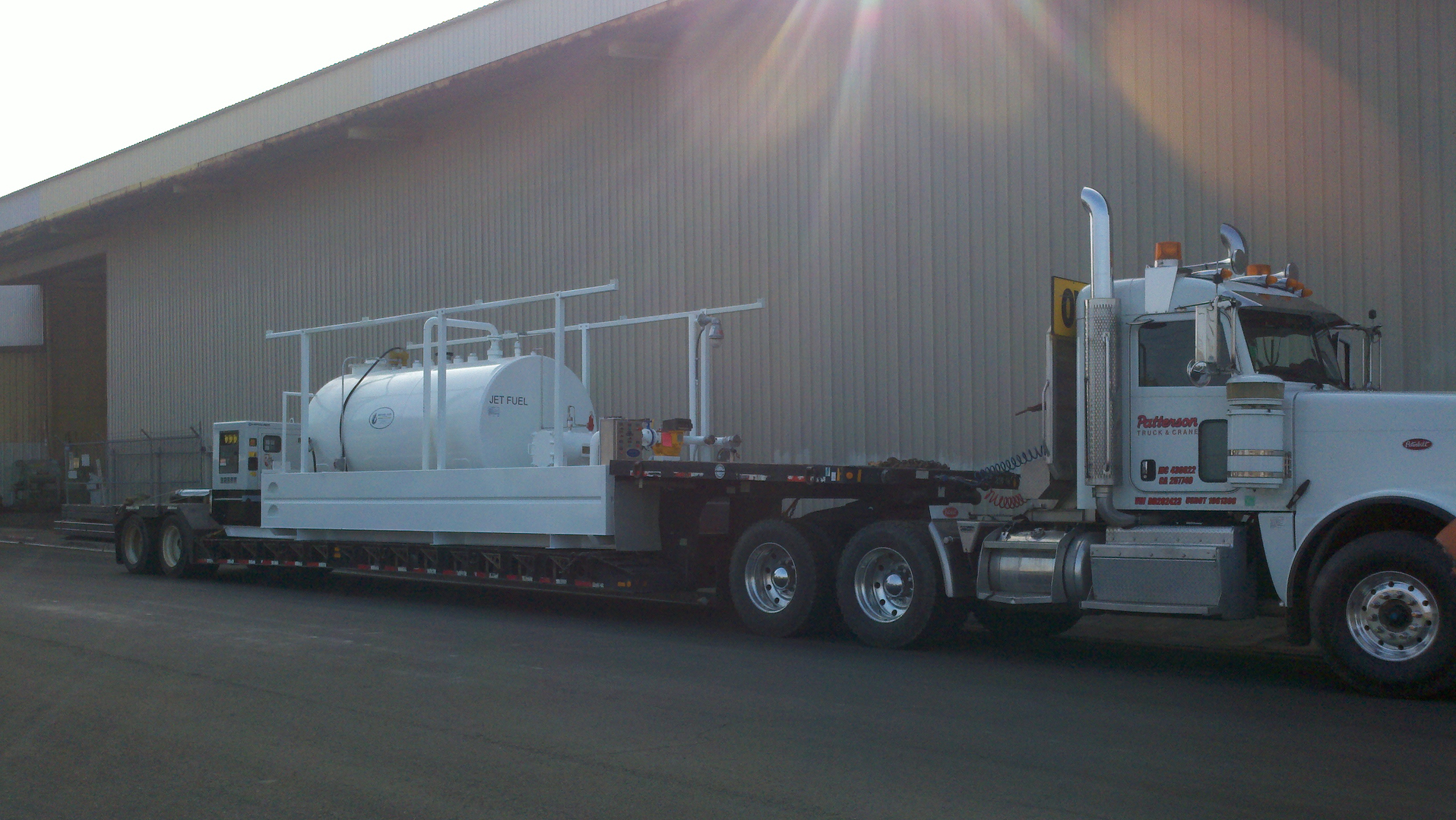 Fuel Dispensing Systems Bryant Power Jet A Filter Truck Completes Ul 142 Fueling System For Army Corps Of Engineers
