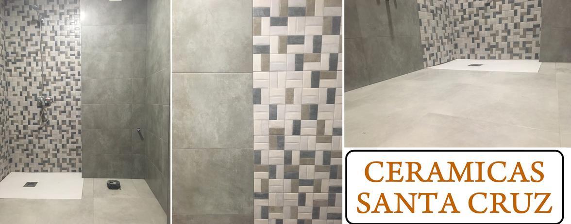 Reforma de cuarto de baño en tonos grises en Corella ...