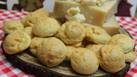 Parmesan Gougeres Cheese Puffs Recipe, Noreen's Kitchen