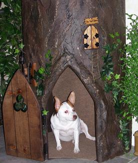 Fantasy Trees great for Small Dogs too