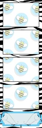 Bumblebee Booths Photo Strip sample #32