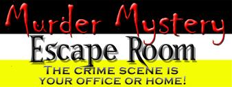 Murder Mystery Escape Room page