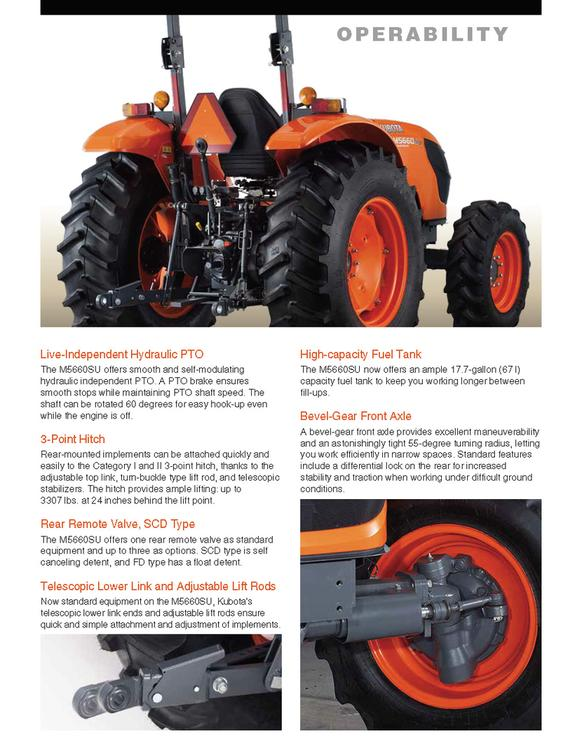 Peters Tractor & Equipment Co  - Tractors, Kubota Tractor