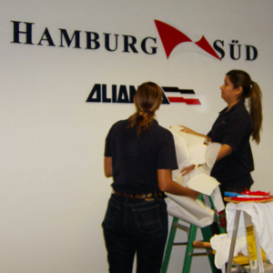 Logo Letters Sign Installation