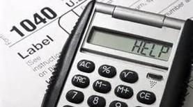 Calculator used for our accounting services in Greenwood Lake, NY