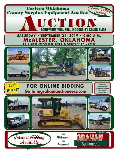 Mike Graham Auctioneers - Auction, Construction Equipment
