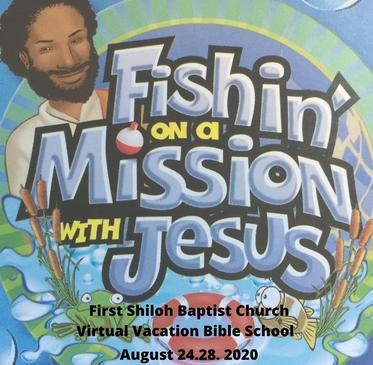 Flyer of Fishin on a Mission with Jesus