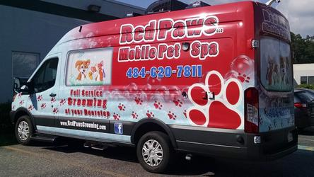 Red Paws Mobile Pet Grooming