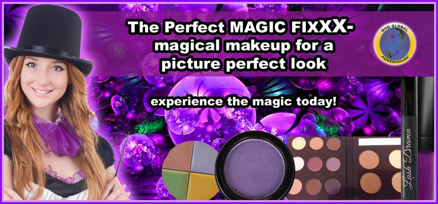 magic fixxx makeup brand from GHG GLOBAL POWERHOUSE