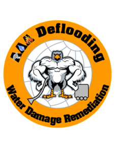 Logo, AAA Deflooding, Water damage cleanup in Los Angeles, CA