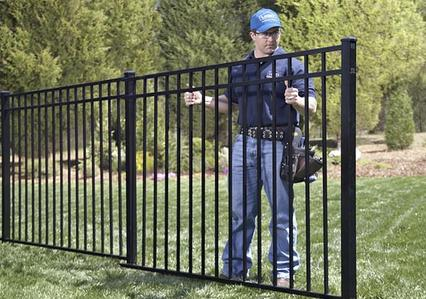 Aluminum Fence Installation Service and Cost in Las Vegas NV - McCarran Handyman Services