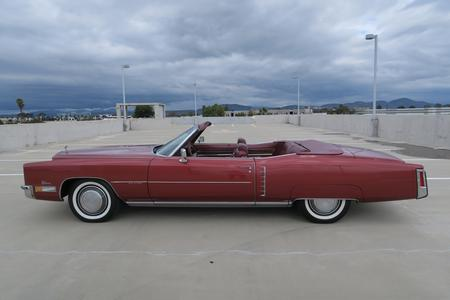 1972 Cadillac Eldorado 2 door Convertible for sale at Motor Car Company in San Diego California