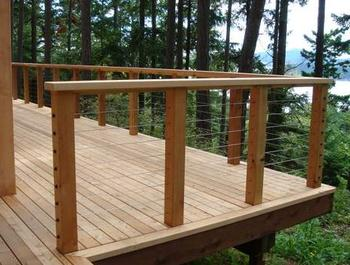 Western Red Knotty Cedar Decking