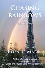 Image of Chasing Rainbows jacket. Eiffel Tower and a rainbow
