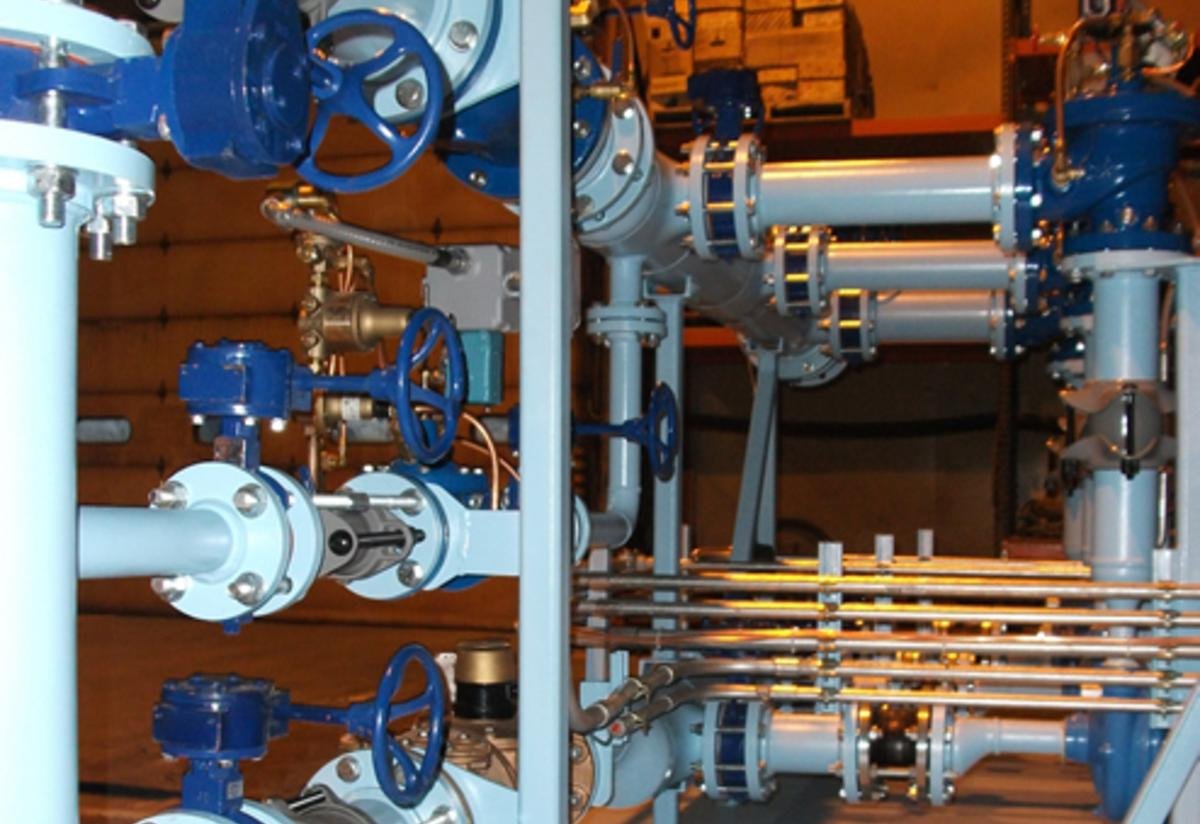 Water Pump Stations and Systems