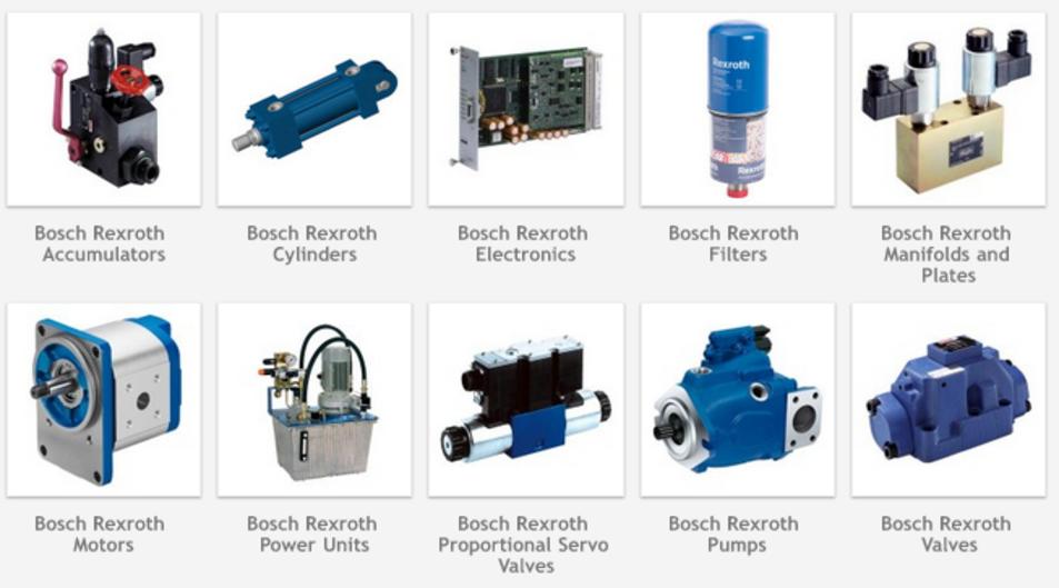 Bosch rexroth hydraulic pump motors valves ahmedabad for Bosch rexroth servo motor