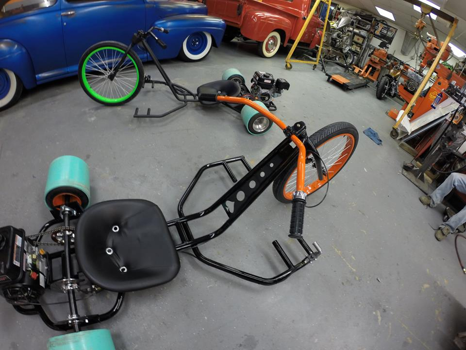 nichols paint and fab custom motorized drift trikes - Drift Trike Frame