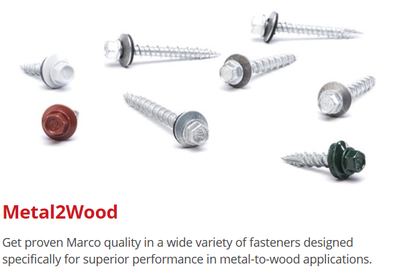 metal to wood screws