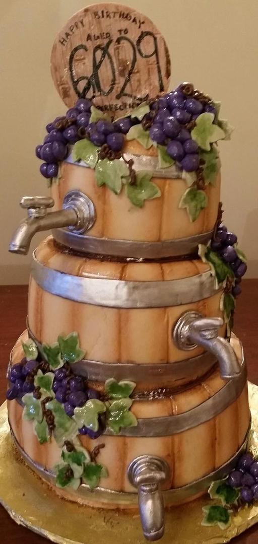 Custom And Wedding Cakes Birthday Cakes Taras Temptations