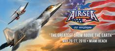 Miami Events; Memorial Day Weekeng; Air and Sea Show; Aviation; fighter Jets