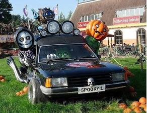 Classic Cars and Rock 'n Roll - Halloween Edition