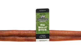 Non Rawhide Bully Sticks available in various sizes