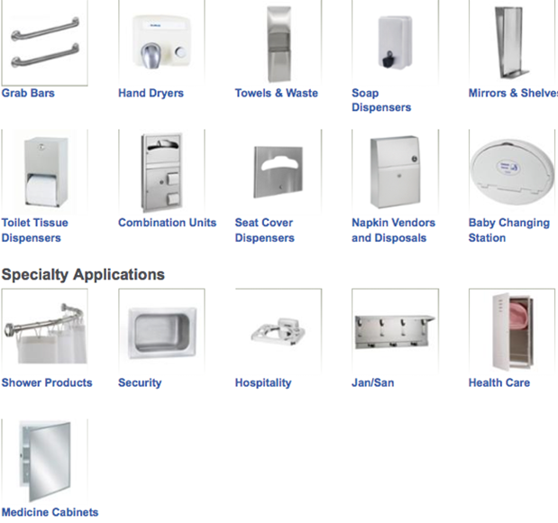 Bathroom Partition Accessories toilet partitions & accessories