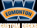 Edmonton custom decks deck construction fence for Garage package edmonton