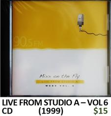 WCBE Live from Studio A Vol 6 CD