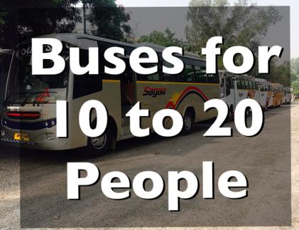 bus hire in delhi