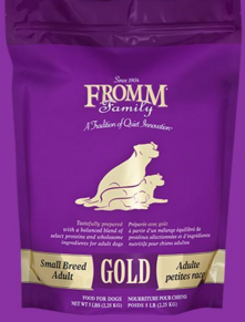FROMM family of dog food has a wide range of feed suited for your animals