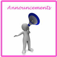Image linking to the Announcements Page