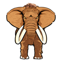 Mammoth Sticker