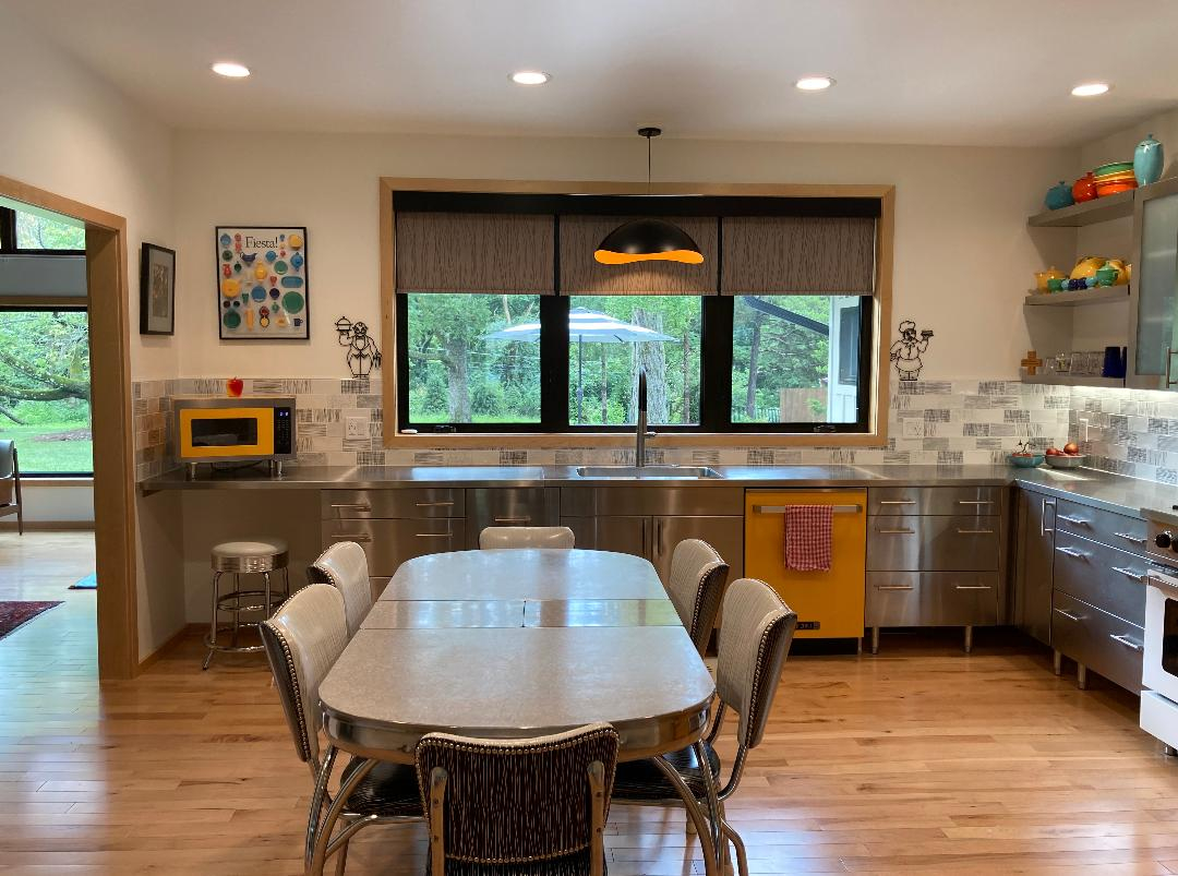 Stainless Steel Kitchens Kitchen Cabinets Countertops Metal