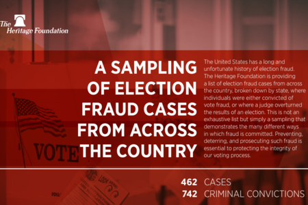 The Heritage Foundation list of Election Fraud Cases