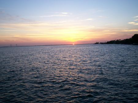Sunset at St Simons Island