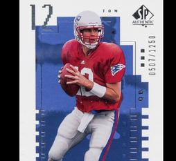 tom brady sp rookie cards