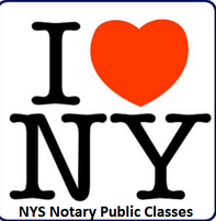 NYS Notary Public Classes