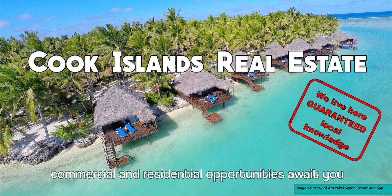 Cook Islands Real Estate home page