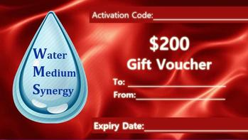 Image of Red Water Medium Synergy $200 Gift Voucher Card