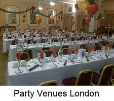 Party Venues in London