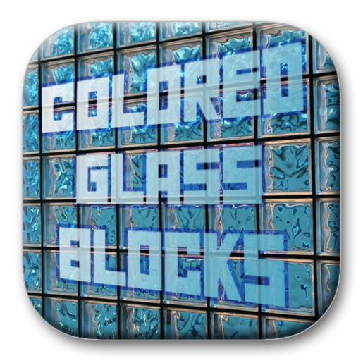 Solar Graphics logo colored glass blocks picture image
