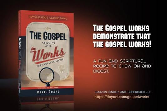 Book Cover for Gospel Served with the Works by Chris Grahl