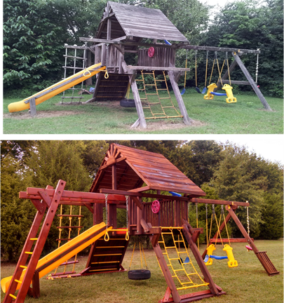 the choose rainbow set wooden featured location indianapolis prices sets how swing and playhouse playsets woodplay blog to in playset best